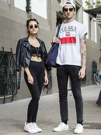 Paulina Caceres y Alberto Vitelio