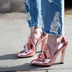 Zapatos rose gold, una tendencia ideal de otoño