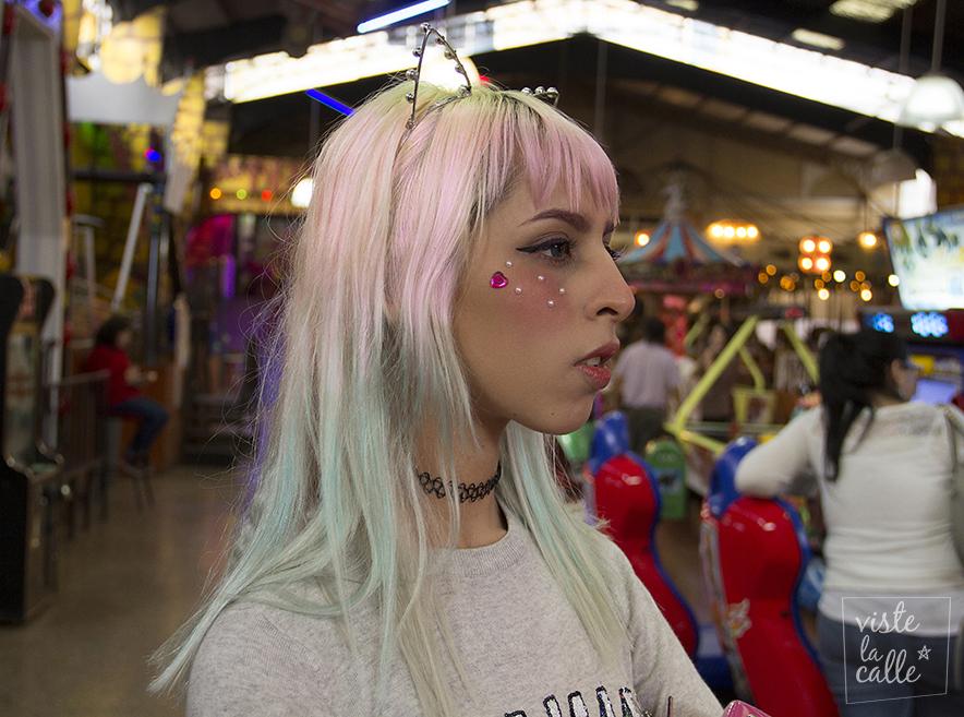 Hairhunting en Santiago: Colores fantasía