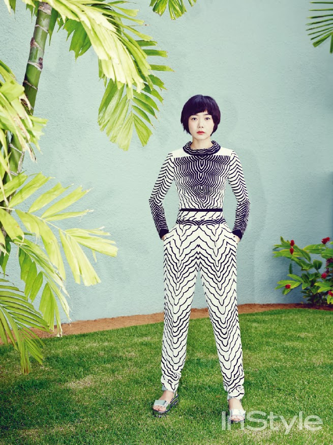 Bae Doo Na - InStyle Magazine March Issue 2014 (4)
