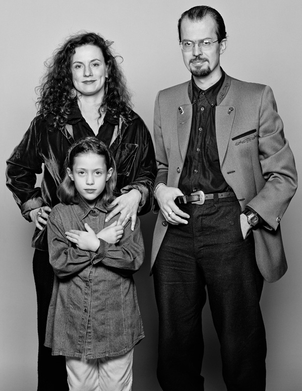 Barbara & Sascha mit Aniko 1997