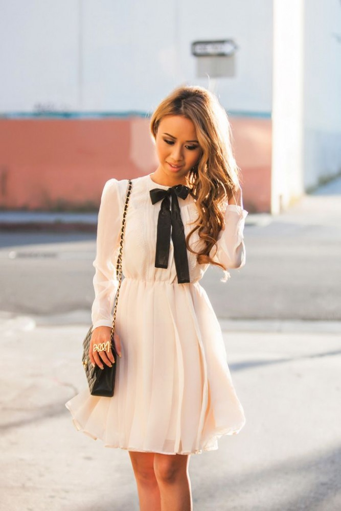 Bow-Tie-For-Women-Hottest-Street-Style-Looks-6