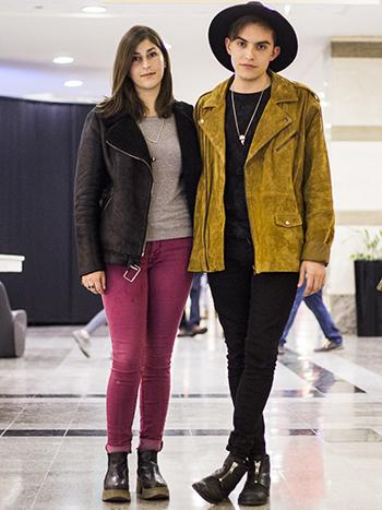 Camila Helbig y Felipe Chaparro