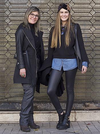 Marcela Díaz y María Fernanda