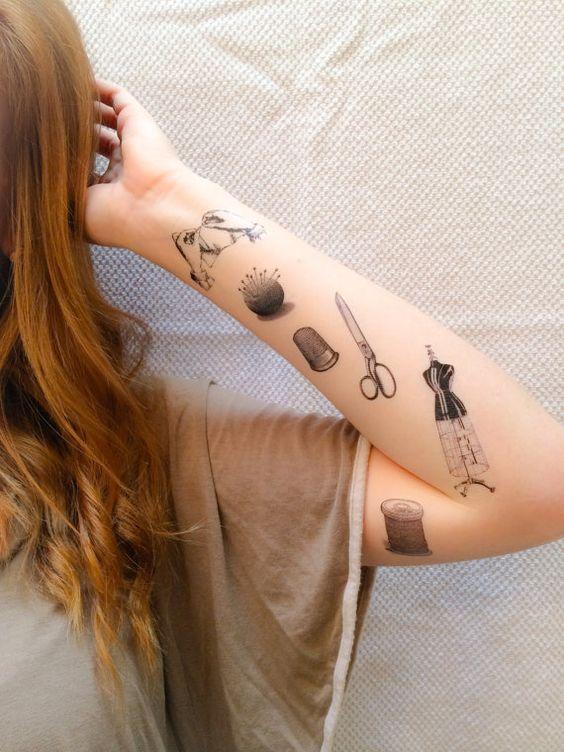 15 tatuajes que encantarán a cualquier fashionista