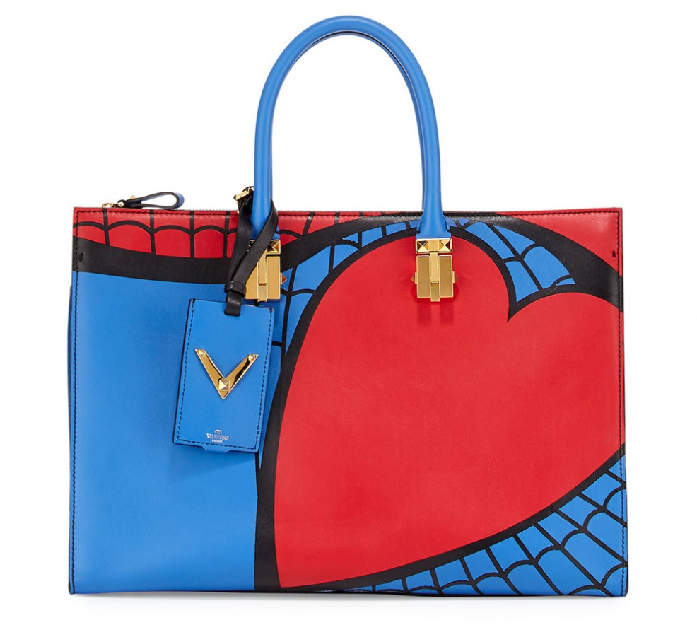 Valentino-Superhero-Spiderman-Tote