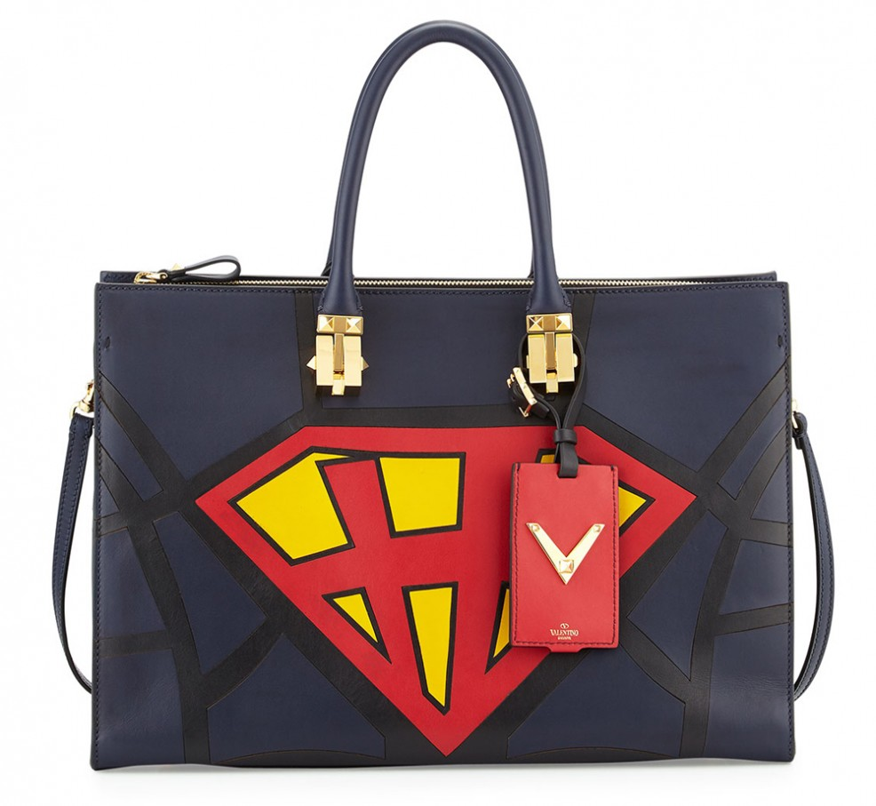 Valentino-Superhero-Superman-Tote