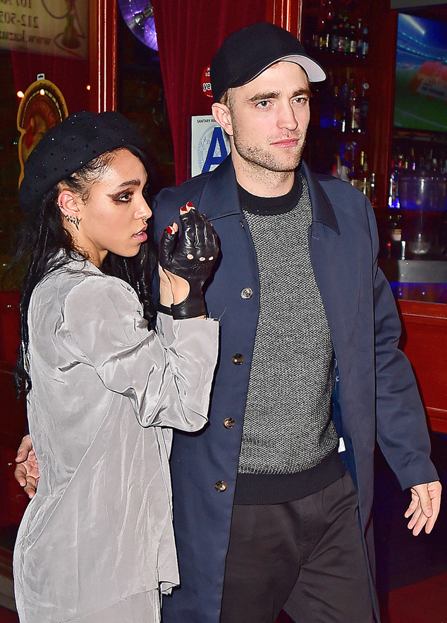 Robert Pattinson and FKA Twigs go to the afterparty for her concert in NYC