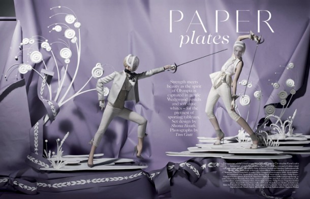 Vogue-UK-Origami-Fantasy-Art-Photography-for-Olympic-Games-by-Tim-Gutt-610x392