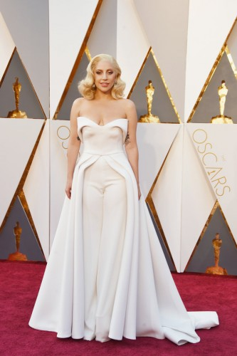 HOLLYWOOD, CA - FEBRUARY 28: Recording artist Lady Gaga attends the 88th Annual Academy Awards at Hollywood & Highland Center on February 28, 2016 in Hollywood, California. (Photo by Jason Merritt/Getty Images)