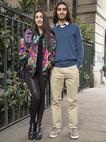 Javiera Ramirez y Alfredo Pizarro