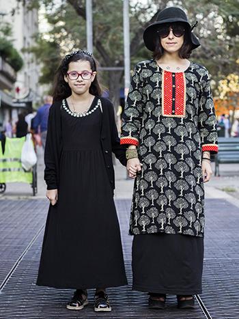 Matilda Vivanco y Valeria Menay