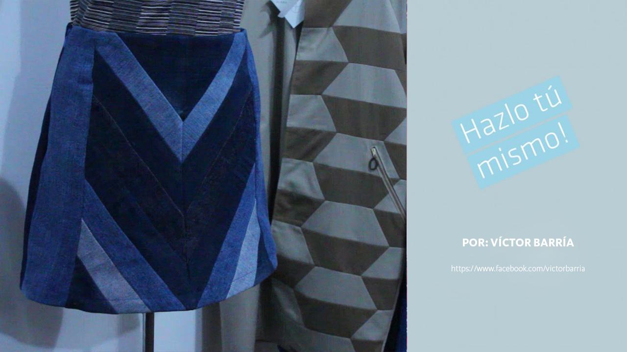 Hazlo Tú Mismo - Edición Diseñadores: Falda Patchwork Jeans