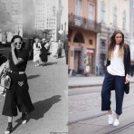 La historia tras la silueta del pantalón Culotte