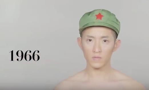 VLC ♥ 100 años de estilo masculino en China