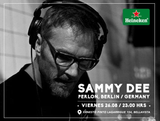 Sammy Dee trae lo mejor de la música electrónica junto a #HeinekenLife