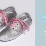 Hazlo Tú Mismo: Cómo hacer unas Zapatillas Metalizadas