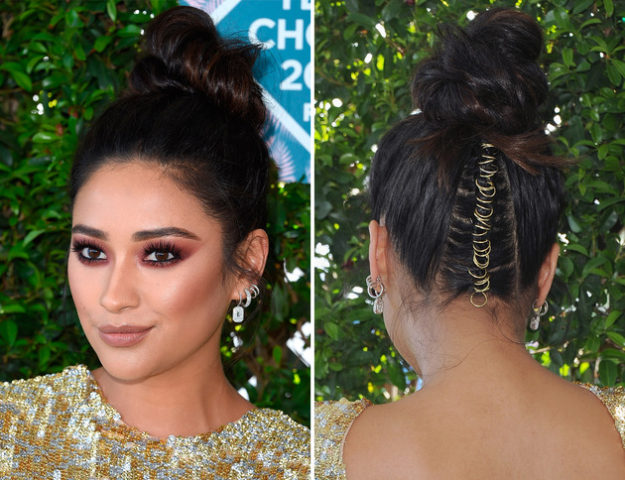 #HairRing, la moda de llevar piercings en el pelo