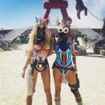 Burning Man 2016, el festival que reúne los looks más futuristas