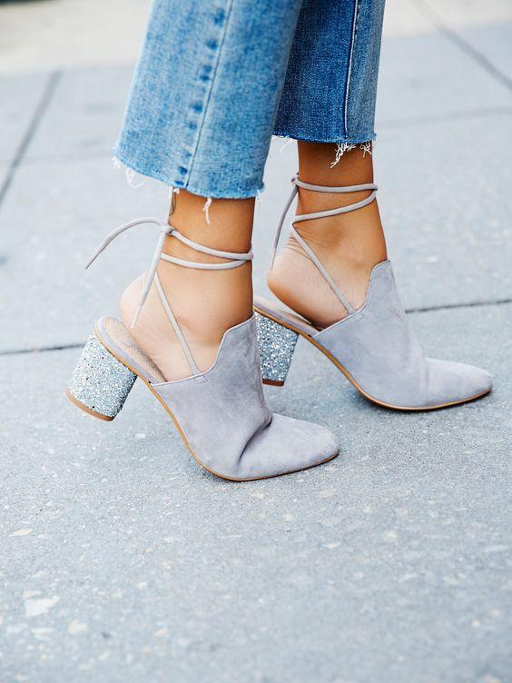 Block Heel: El tacón que tus pies agradecerán