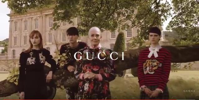 Vanessa Redgrave, un icono del pasado que renace con Gucci