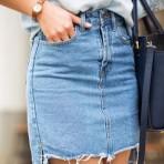 Inspiración: El regreso de las faldas de mezclilla