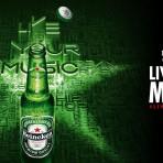 #HeinekenLife te invita a #LiveYourMusic