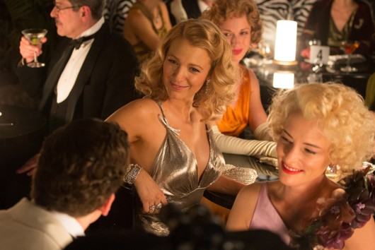 """A still from """"Cafe Society"""" showing Blake Lively in Chanel fine jewelry"""