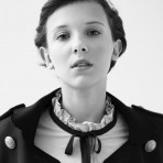 La primera editorial de Millie Bobby Brown