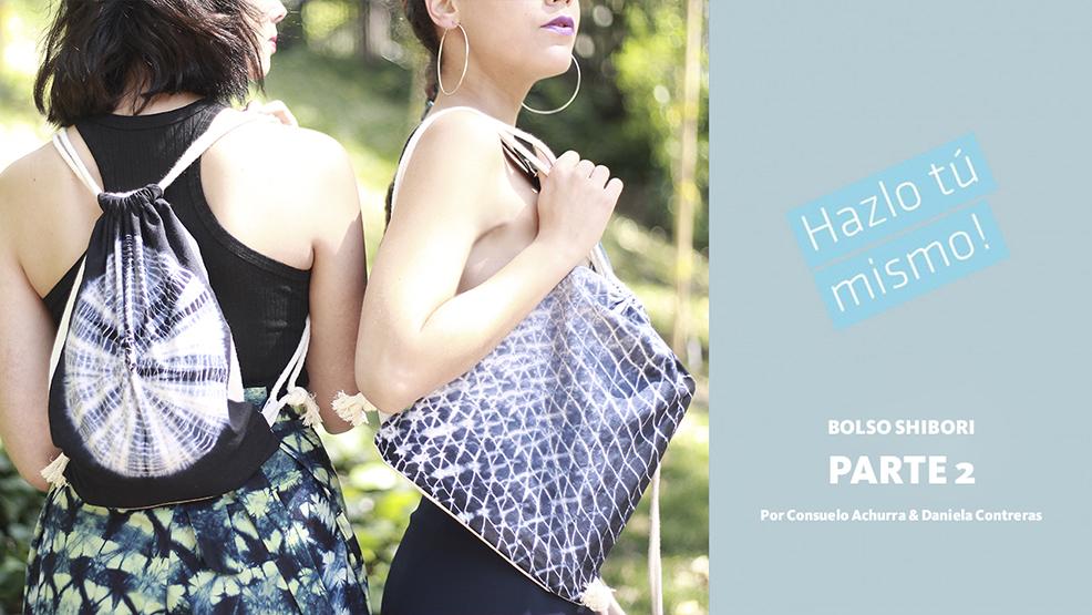 Hazlo Tú Mismo: Cómo aplicar el teñido shibori en un bolso (Parte II)