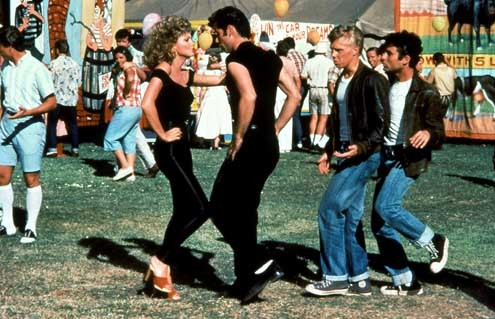grease 1978 rŽal : Randal Kleiser Olivia Newton Jones John Travolta Collection Christophel Collection Christophel