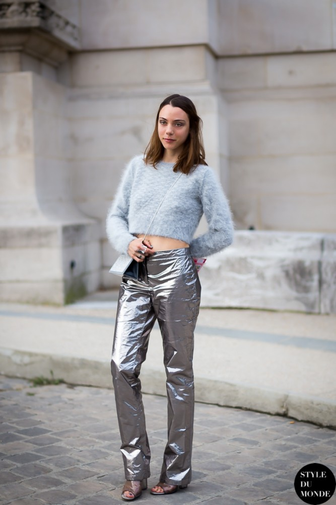 4-metallic-silver-pants-with-sweater