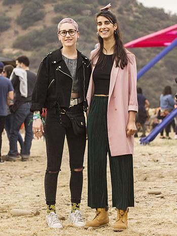 Kira Piriz y Loreto Leiva