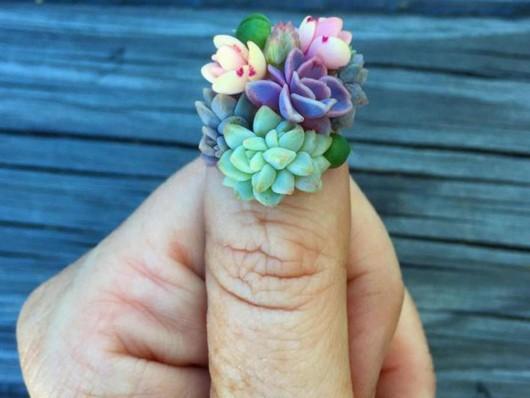 succulent-nails