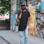 Poleras largas para hombres, la tendencia que revoluciona las calles del mundo