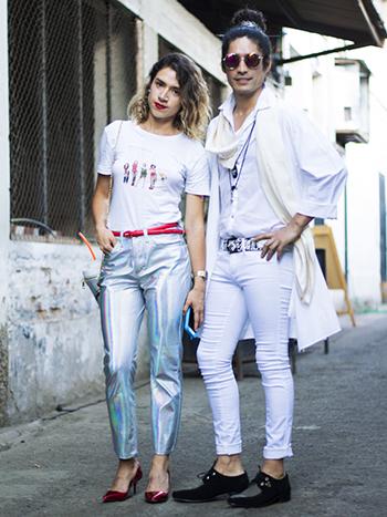 Tamara Mendez y Carlos Calquin