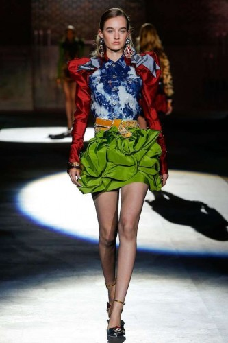 dsquared2-falda-greenery