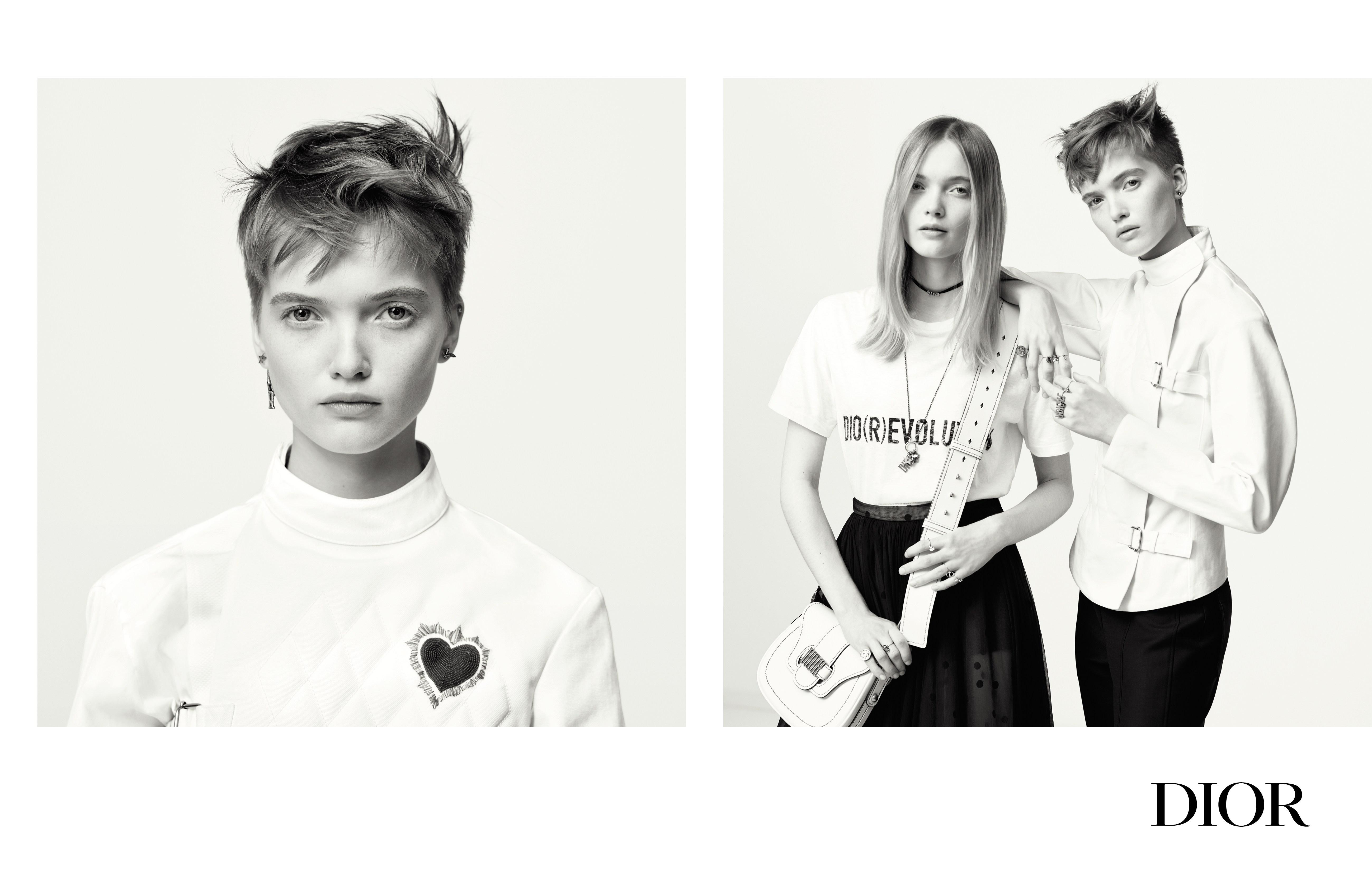 La primera campaña de Dior bajo la dirección de Maria Grazia Chiuri