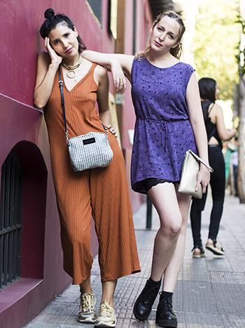 Carolina Torrejon y Stefania Vargas
