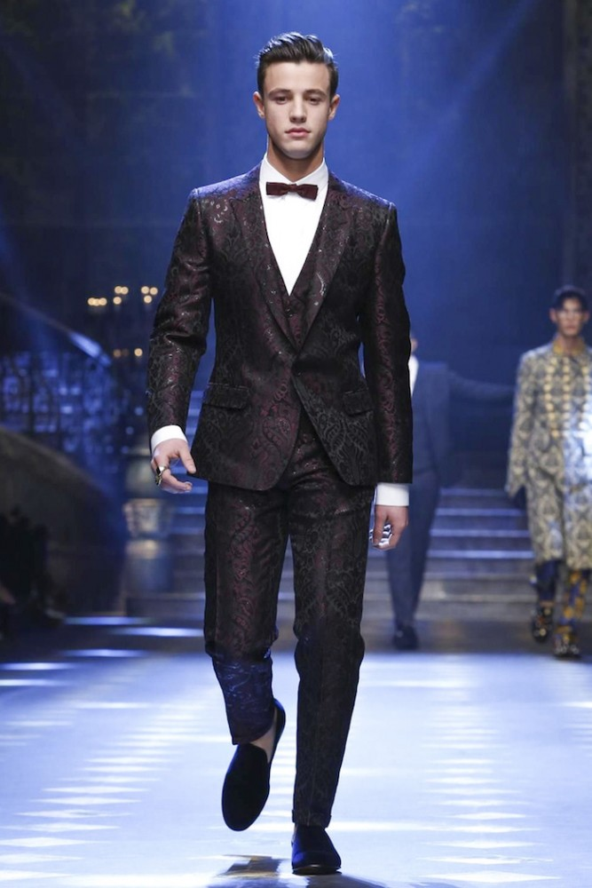 Dolce & Gabbana, Fashion Show, Menswear Collection Fall Winter 2017 in Milan