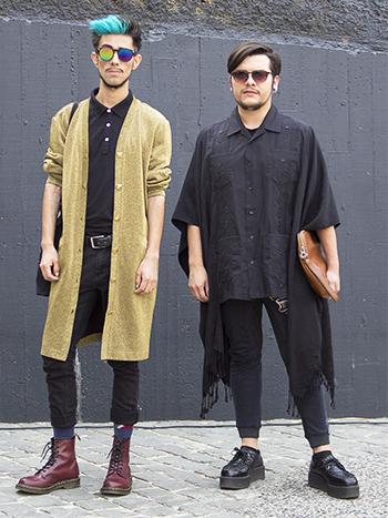 Felipe Ponce y Nicolás Donoso