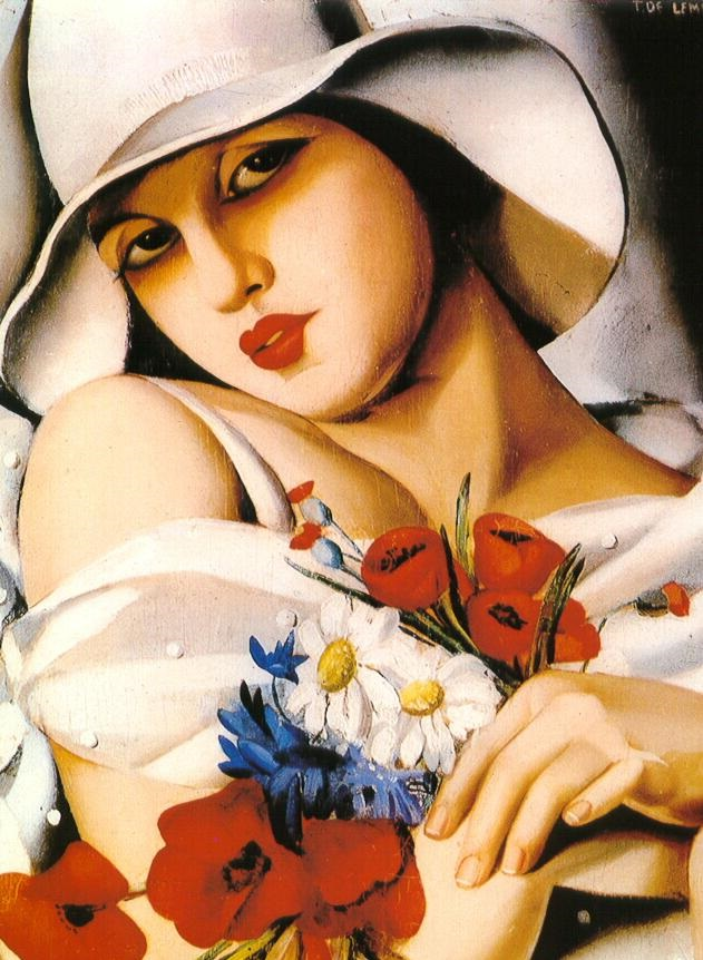 1-tamara-de-lempicka-in-the-middle-of-summer-1928
