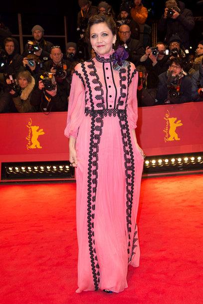 Maggie Gyllenhaal en Dior