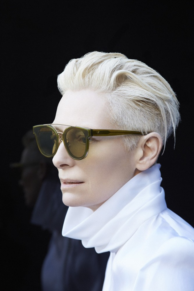 Gentle Monster x Tilda Swinton Collaboration