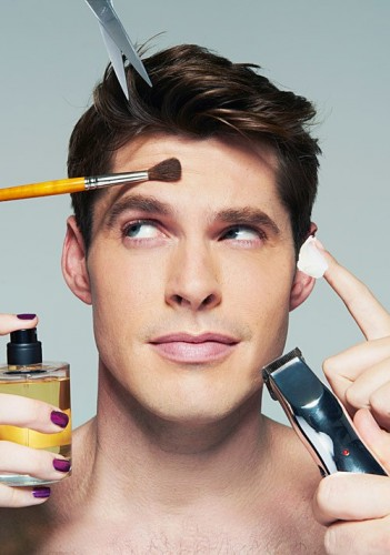 maquillaje hombres