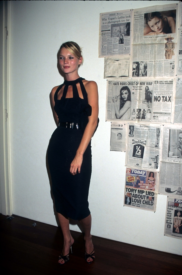 Kate Moss (Photo by Rose Hartman/WireImage)