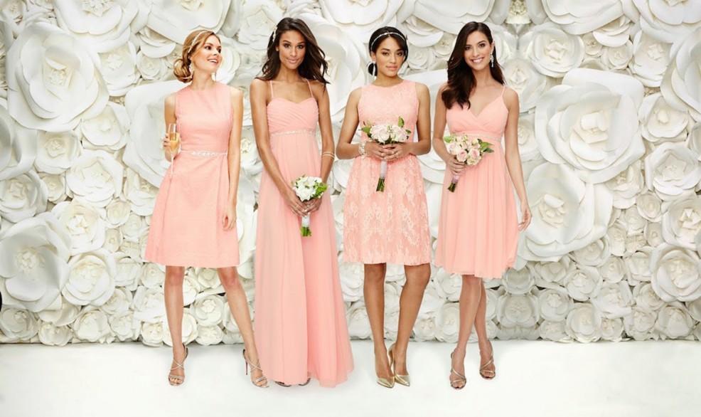 eva-mendes-bridesmaid-dresses-pink