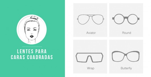 lentes cuadradas