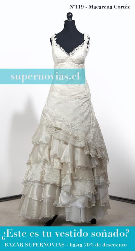 vestidos de novia usados impecables top – viste la calle
